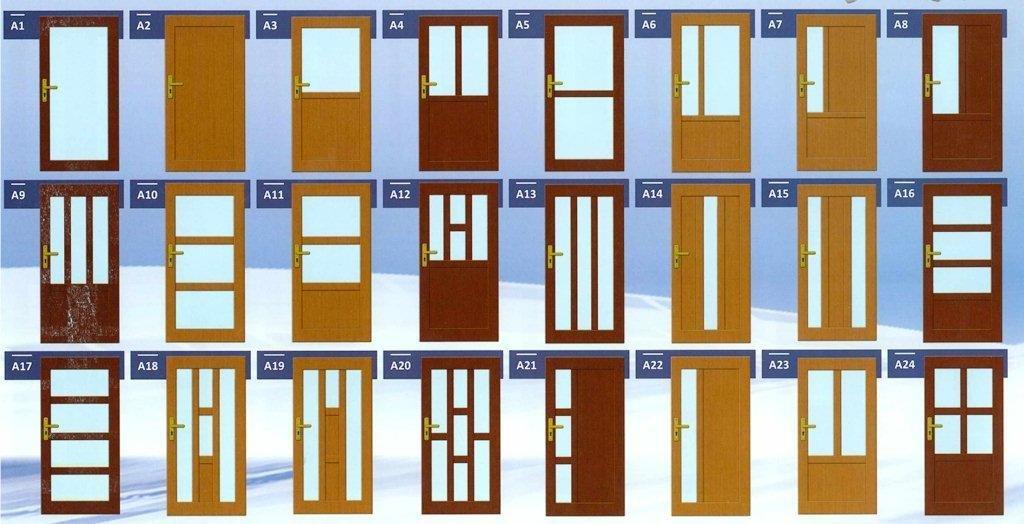 Vzory vchodových dveřích II.